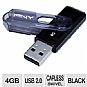 Alternate view 1 for PNY P-FD4GB/MINI-FS 4GB Mini Attache USB 2.0 Drive