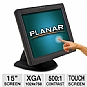 "Alternate view 1 for Planar PT1500MX 15"" Touch Screen LCD Monitor"