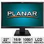 "Alternate view 1 for Planar PL2210W 22"" Class Widescreen LCD Monitor"