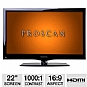 "Alternate view 1 for Proscan PLED2243A 22"" 1080p 60Hz LED HDTV"