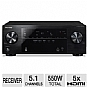 Alternate view 1 for Pioneer VSX-522-K 5.1 Channel 3D A/V Receiver