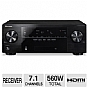Alternate view 1 for Pioneer VSX-1022-K 7.1 Channel 3D A/V Receiver