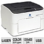 More Info on Konica magicolor 1600W Color Laser Printer - 1200 x 600 dpi, 20 ppm Black & White, 5 ppm Color, 35,000 Pages Per Month, 80 MHz, 16MB, USB 2.0