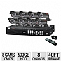 Alternate view 1 for Q-See QS408-811-5 Network DVR Surveillance System