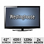 Westinghouse LD-4258 42&quot; Class Widescreen Edge Lit LED HDTV - 1080p, 1920 x 1080, 16:9, 4000:1, 120Hz, HDMI, VGA, Energy Star (Refurbished) (Refurbished)