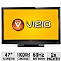 "Alternate view 1 for Vizio E470VLE 47"" 1080p 60Hz LCD TV Refurb"