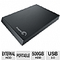 Alternate view 1 for Seagate Expansion Portable 500GB USB3.0 Hard Drive