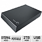 Alternate view 1 for Seagate Expansion 2TB Desktop External Hard Drive