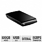 Alternate view 1 for Seagate 500GB Expansion Portable Hard Drive