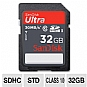 Alternate view 1 for Sandisk 32GB Ultra SDHC UHS-I Card