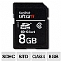 Alternate view 1 for SanDisk 8GB Ultra II SDHC Card