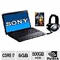 "Alternate view 1 for Sony VAIO VPCF23JFX/BC 16.4"" Laptop Gaming Bundle"