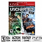 Alternate view 1 for Sony Uncharted 1 & 2 Dual Pack Video Game
