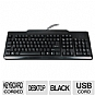Alternate view 1 for OEM 104-Key Black USB Standard Keyboard
