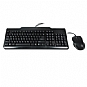 OEM 104-Key Black PS/2 Standard Keyboard Bundle