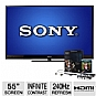 Alternate view 1 for Sony KDL55HX820 55 Class BRAVIA 3D LED HDT Bundle