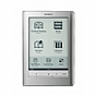 "Sony PRS-600SC Touch Edition E-Book Reader -  Rechargeable 2 Week Battery, USB, 6"" Display, 5 Adjustable Font Sizes, Silver (Refurbished)"