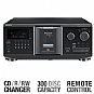 Sony CDP-CX355 CD Megastorage Disc Changer - 300 Disc, CD-R/RW Playback, Headphone Output, Remote Control (Refurbished)