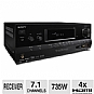 Alternate view 1 for Sony STR-DH720 7.1 Channel A/V Receiver