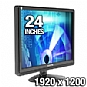 "Alternate view 1 for Sceptre x24wg-Naga 24"" Widescreen LCD Monitor"