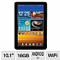 Samsung GT-P7510MAYXAB Galaxy Tab 10.1&quot; WiFi Android Tablet - Android 3.1 Honeycomb, NVIDIA Dual-Core Tegra 2, 10.1&quot; WXGA, 1GB Memory, 16GB Storage, 802.11 a/b/g/n