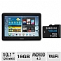"Samsung Galaxy Tab 2 10.1"" 16GB Android Tab Bundle"
