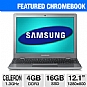 "Alternate view 1 for Samsung 12.1"" Celeron 16GB SSD WiFi Chromebook"