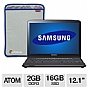 Alternate view 1 for Samsung Series 5 3G Titan Silver Chromebook Bundle