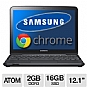Alternate view 1 for Samsung Series 5 3G Titan Silver Chromebook REFURB
