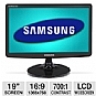 "Alternate view 1 for Samsung S19A10N 19"" Class Widescreen LCD Mo REFURB"
