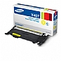 Samsung CLT-Y407S Yellow Toner Cartridge - (approx. 1,000 Page Yield) (Refurbished)