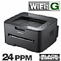 Alternate view 1 for Samsung ML2525W Wireless Mono Laser Printer