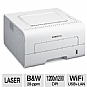 Samsung ML-2955DW Wireless Mono Laser Printer - Up to 28 ppm, Auto-Duplex (2-sided printing), Up to 1200 x 1200 dpi, USB 2.0, Ethernet 10/100, 802.11 b/g/n WiFi