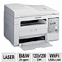 Samsung SCX-3405FW Mono Laser Multifunction Printer - Print, Copy, Scan, Fax, Up to 21 ppm Print Speed, 1200 x 1200 dpi, Manual Duplex, USB 2.0, Ethernet 10/100 Base TX, Wireless 802.11  (Refurbished)