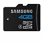 Samsung MB-MS4GA/US High Speed MicroSDHC Memory Card - 4GB, Class 4 (Refurbished)