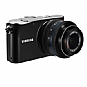 Samsung NX-100 EV-NX100ZBABUS Digital Camera and 20-50mm Lens - Auto Scene Settings, P/A/S/M mode, i-Function Lens, Black (Refurbished)