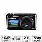 Alternate view 1 for Samsung PL120 DualView 14MP Digital Camera REFURB