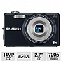 Alternate view 1 for Samsung ST65 Blue 14MP Digital Camera