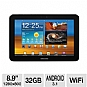 "Samsung GT-P7310MAVXAR Galaxy Tab 8.9"" WiFi Tablet - Android 3.1 Honeycomb, Dual-Core 1GHz, 8.9"" WXGA Touchscreen, 32GB Storage, 802.11 a/b/g/n, Dual Webcams, Gray (Refurbished)"