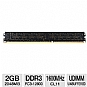 Alternate view 1 for Samsung 2GB DDR3-1600MHz Desktop Memory Module