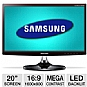 "Alternate view 1 for Samsung S20B350H 20"" Class Widescreen LED Monitor"