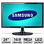 "Alternate view 1 for Samsung S24B300EL 24"" Class Widescreen LED Monitor"
