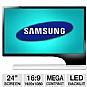 "Samsung S24B750V 24"" Class Widescreen LED Backlit Monitor - 1920 x 1080, 16:9, Mega Dynamic Contrast Ratio, 1000:1 Native, 2ms, HDMI, VGA (Refurbished)"