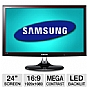 "Alternate view 1 for Samsung 24"" Class LED Backlit  Monitor"