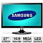 "Alternate view 1 for Samsung 27"" 1080p LED Monitor, 2ms, HDMI, MHL"