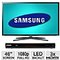 "Alternate view 1 for Samsung 46"" 1080p 120Hz WiFi Smart LED TV & BluRay"