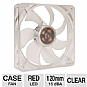 Alternate view 1 for SilenX Effizio Silent Red LED 120mm Case Fan