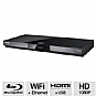 Samsung BD-D5700 Blu-ray Player - 1080p, HDMI, Built-in WiFi, BD-Live, AllShare, USB (Refurbished)