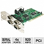 Alternate view 1 for StarTech PCI4S550N Value 4-Port 16550 Serial PCI C