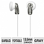 Sony MDRE9LP/GRAY Fashion Earbud Headphones - Gray